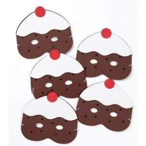 5 currant buns masks