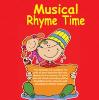 CD+ PLUS - Musical Rhyme Time