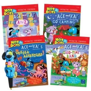 Hot dots interactive books