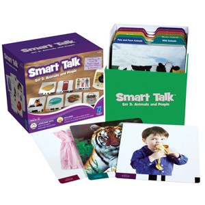 Smart talk card set 3: animals and people