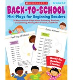Back to School Mini-Plays