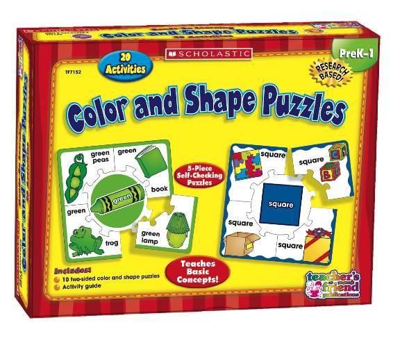 Puzzles de colores y formas