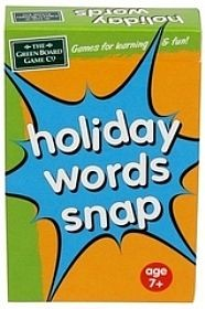Holiday Words Snap