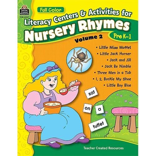 Nursery Rhymes Literacy Centers volume 2