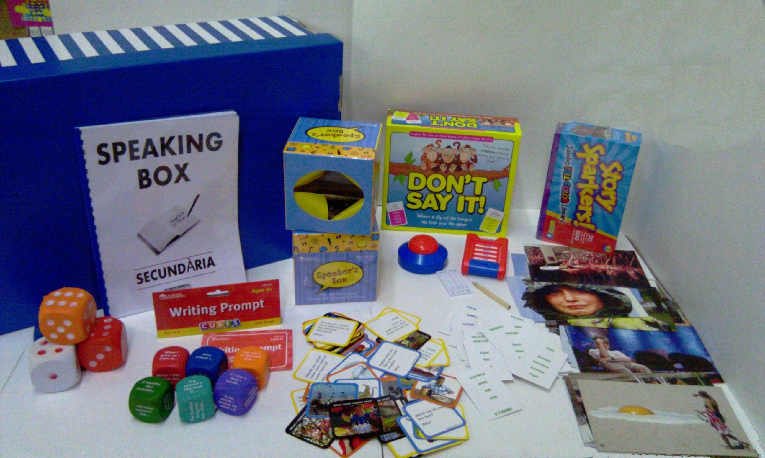 Secondary Speaking Box