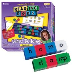 Word building: Reading rods