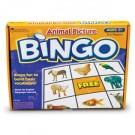 Juego de bingo de los animales