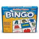 Juego de bingo de la ropa