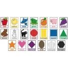Colores y figuras inglés.