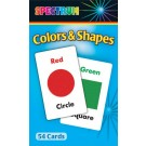 Colors and shapes cards