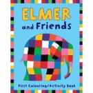 Elmer colouring and activity book