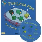 Five little men in a flying saucer book and cd