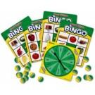 Juego de bingo de comida