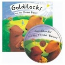 Goldilocks flip up book and cd