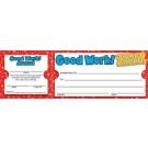 Good Work ticket award