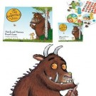 Match and memory board game The Gruffalo