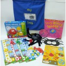 Song sack: Incy Wincy spider.