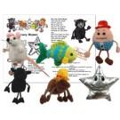 Nursery rhymes puppet set
