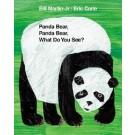 Panda bear, panda bear, what do you see?