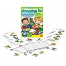 Shopping list booster pack fruit and vegetables.