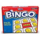 Juego de bingo de las horas