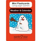 weather and calendar cards